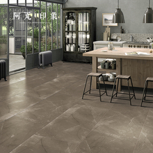 Warm Coffee Color Marble Tile Bed & Breakfast Floor Tile 600x1200 Living Room Dining Room Non-Slip Floor Tile Villa Office TZ
