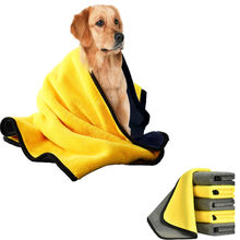 Ultra-Absorbent Pet Bath Towel Absorbent Bath Towel Microfiber Drying Towel for Small Medium Large Dogs Cats Machine Washable