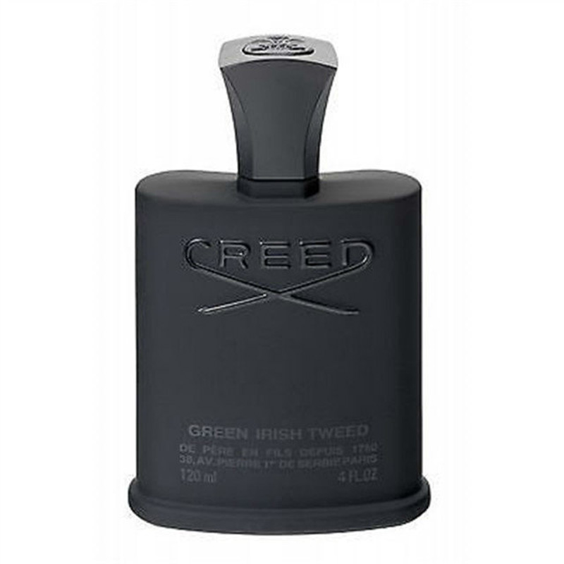 Hot Sale Creed Green Irish Tweed Man Perfume Floral Woody Musk Scent Man Cologne Liquid Spray High Quality With Free Shipping