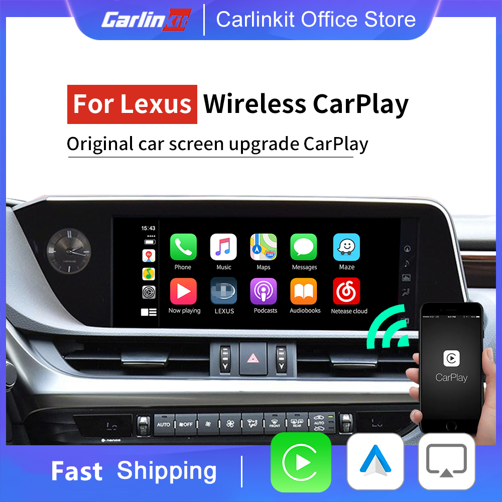 Wireless CarPlay & Android Auto ...