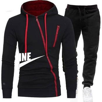 2020 New Brand Clothing Men's Autumn Winter Hot Sale Men's Sets Hoodie+pants Two Pieces Sets Casual Tracksuit Male Sportswear