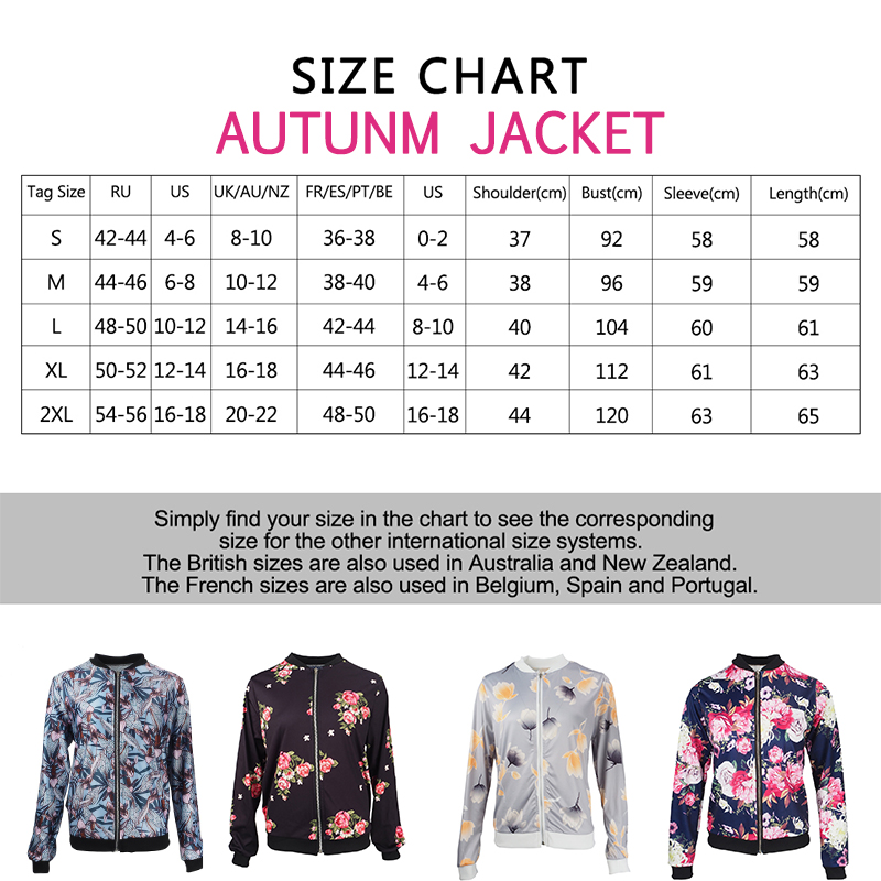 Plus Size Spring Women s Jackets Retro Floral Printed Coat Female Long Sleeve Outwear Clothes Short Plus Size Spring Women's Jackets Retro Floral Printed Coat Female Long Sleeve Outwear Clothes Short Bomber Jacket Tops 5XL