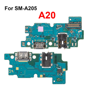 Image 2 - 1Pcs Usb poort Opladen Dock Connector Board Charger Flex Met Microfoon Voor Samsung Galaxy A10 A20 A30 A40 A50 a70 Reparatie Deel