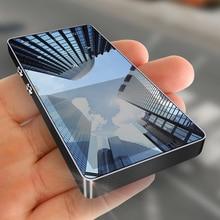 Mahdi M350 MP3 плеер Металлический спортивный мини портативный аудио 4G/8G музыкальный плеер