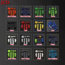 Jcd цветные кнопки a b l r для gameboy advance рамка gba d кнопка