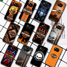 Harley-Davidson Motorcycle Phone Case For Xiaomi Mi 8 9 Note 10 A3 9T 10T 11 Poco x3 Lite Pro NFC Ultra black Coque Trend Prime