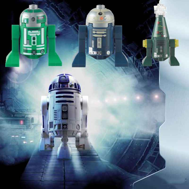 R3D5 Robot Christmas Robot Star Wars The Rise of Skywalker Series Model Building Blocks gifts Toys For Children
