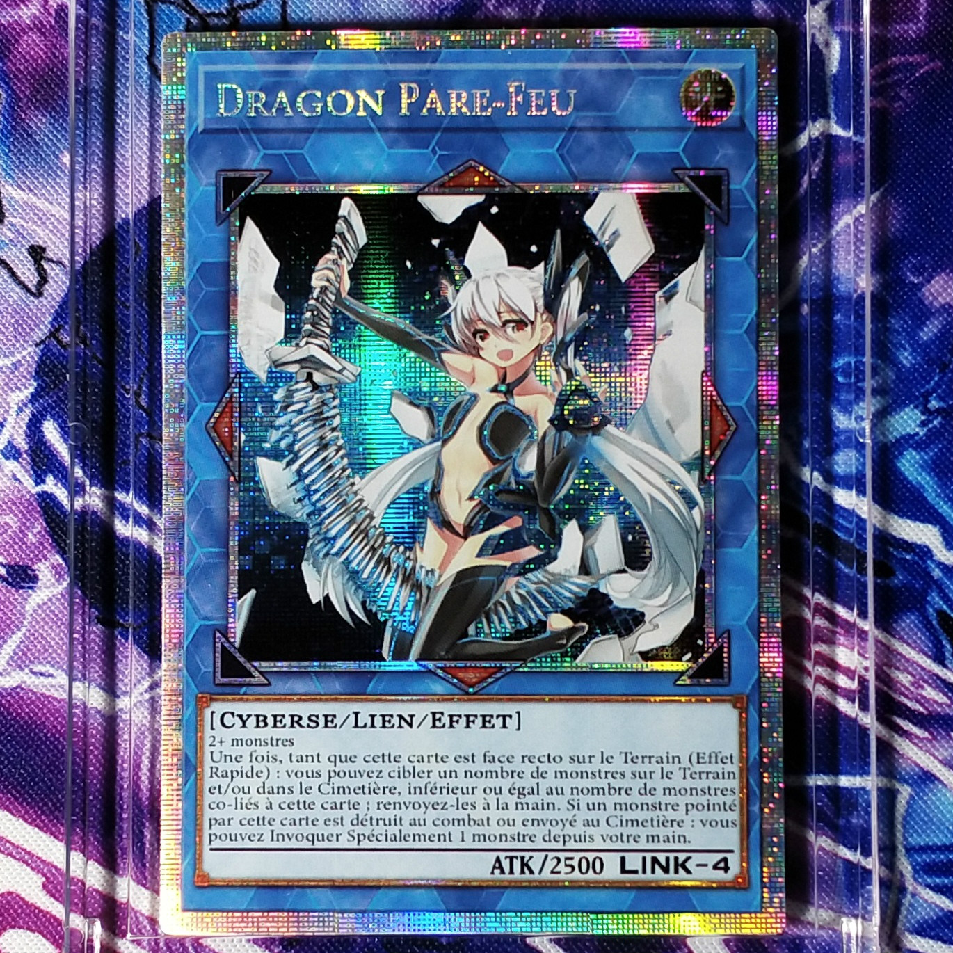 Yu Gi Oh French Firewall EXceed Dragon DIY Colorful Toys Hobbies Hobby Collectibles Game Collection Anime Cards
