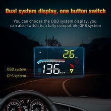 Автомобильный hud Дисплей универсальный obd2 скоростной проектор