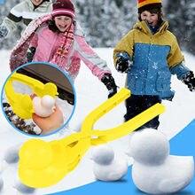 Brinquedos para crianças neve snowball maker clip maker animal em forma de neve areia molde ferramenta de inverno crianças presentes zabawki dla dzieci # l4