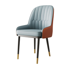 Nordic INS Metal PU Chair Restaurant Dining Chair Restaurant Office Meeting Computer Chair Family Bedroom Learning Lounge Chair