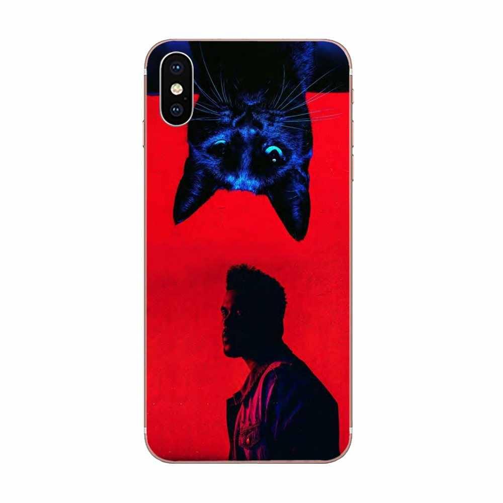 يكند Starboy البوب المغني TPU الهاتف كوكه ل أبل فون X XS ماكس XR 4 4S 5 5C 5S SE 6 6S 7 8 زائد