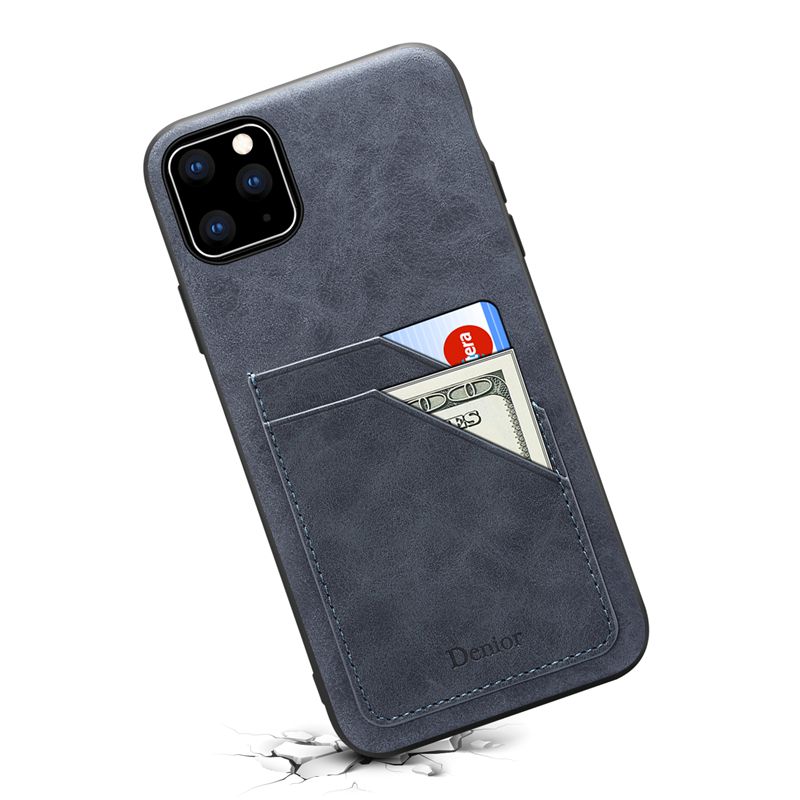 Double Card Leather Case for iPhone 11/11 Pro/11 Pro Max 44