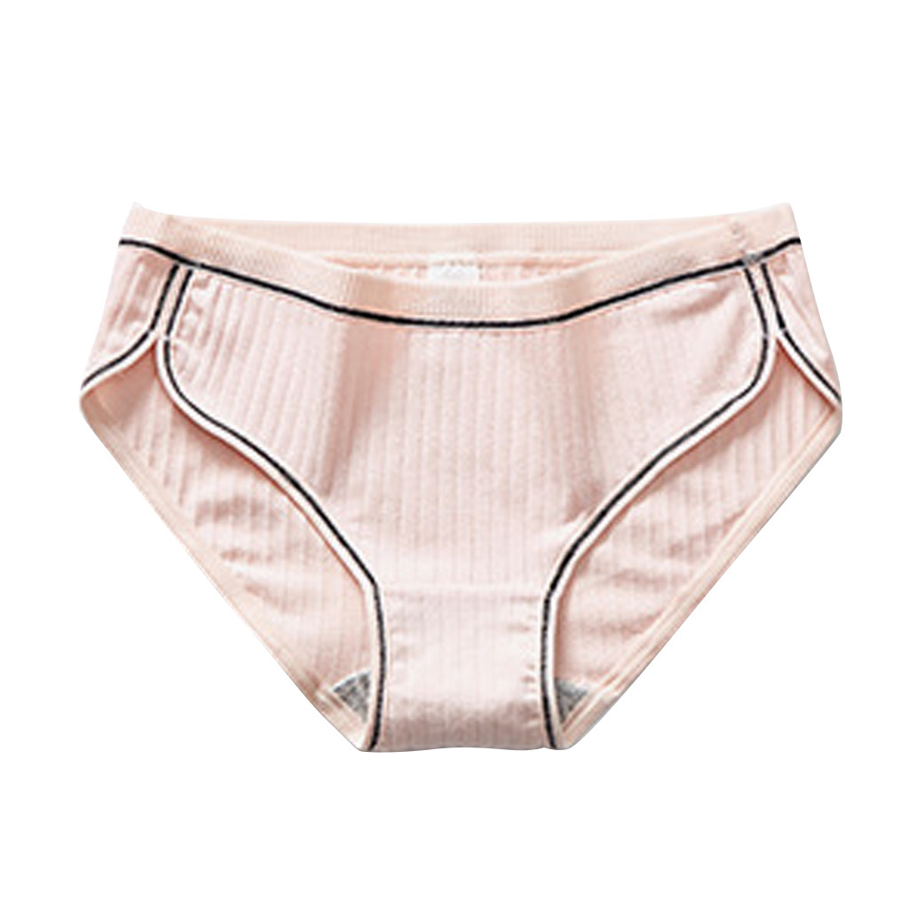 Women <font><b>Sexy</b></font> Pure Cotton Panties Knickers <font><b>Sexy</b></font> Breathable Thread Underpants Underwear Cotton Seamless Panties M-<font><b>XXL</b></font> <font><b>Bragas</b></font> <font><b>Mujer</b></font> image