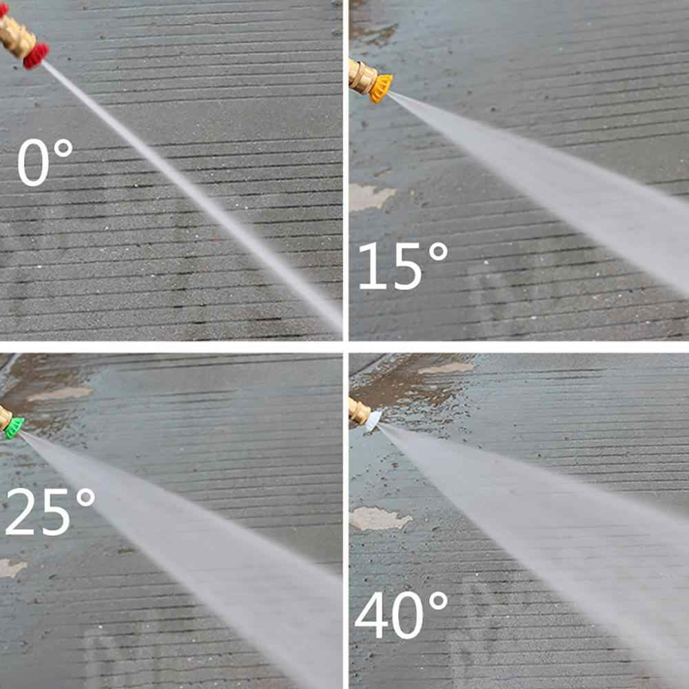 Nowy stopień myjka ciśnieniowa rynny pręt do czyszczenia przywiązanie do Lance różdżka 20.4cm Quick Connect dysza przedłużenie podkładka @ E
