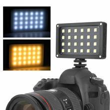 Viltrox rb08 bi color 2500 k 8500 k mini vídeo led luz de preenchimento portátil bateria embutida para o estúdio de tiro da câmera do telefone