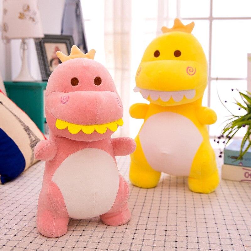 Cute Dinosaur Plush Toys Doll Kawaii Stuffed Soft Animal Doll For Children Baby Kids Cartoon Toy Classic Gift Home Decor