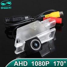 GreenYi 170 ° 1920x1080P HD AHD камера заднего вида автомобиля Камера для Peugeot 301 308 408 508 C5/ Citroen C5 C4 MG3 MG5 автомобиля
