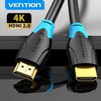 Cavo HDMI Vention 4K HD HDMI 2.0 Splitter cavo maschio-maschio per proiettore TV Switcher Laptop cavo placcato oro compatibile HDMI