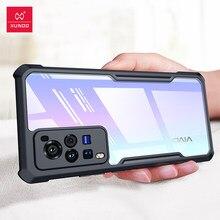 Do futerału VIVO X60 Pro, obudowa z poduszką powietrzną XUNDD, do futerału VIVO X60 Pro Plus Pro +, przezroczysty, odporny na wstrząsy zderzak ochronny na telefon