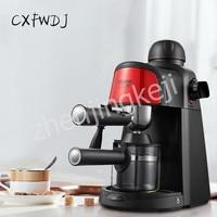 CM6810 가정용 소형 커피 머신 이탈리아 반자동 스팀 타입 밀크 폼 커피 포트 800W 커피 머신