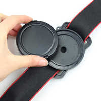 Camera Lens Cap Anti-lost Holder Keeper Buckle for 40.5 49 52 55 58 67 77 82mm for Nikon Pentax Canon Sony Camera Lens Cap Cover