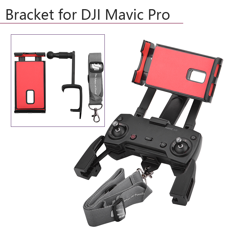 Foldable Monitor Stand Support Holder Mount Remote Control Phone Tablet Bracket For DJI Mavic Pro AIR Spark Drone Accessories
