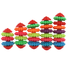 Colorful Rubber Pet Dog Puppy Dental Teething Healthy Teeth Gums Chewing Toys