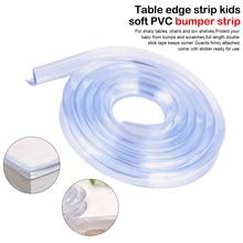 Высокое качество 1 м Детская безопасность продукты ребенок младенческого возраста мягкий силиконовый бампер полоса стол угловая защита края подушки Pad