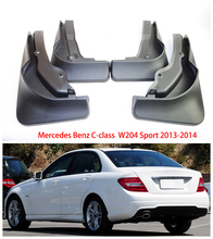 цена на for Mercedes Benz C Class C-Class W204 2013~2014 Fender Mud Guard Flaps Mudguards Accessories Benz C180 C260 C300 Mudguards