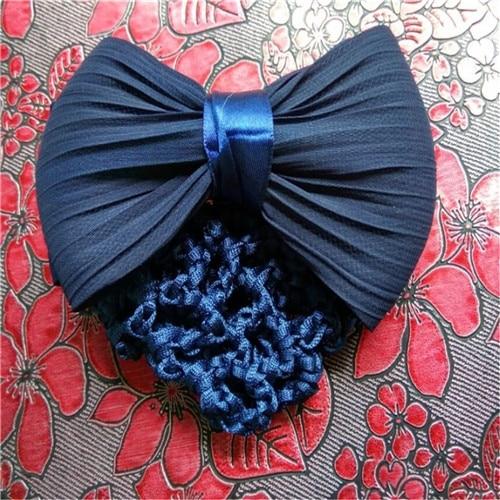 Красивый пучок крышка снуд для женщин сетка для волос Балет Танцы Фигурное катание крючком модные стразы для укладки волос аксессуары Прямая поставка - Цвет: B