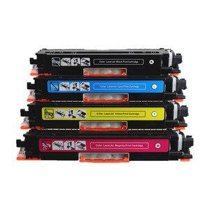 Image 3 - YI LE CAI Compatible toner cartridge CF350A CF350 350a CF351A CF352A CF353A 130A for hp LaserJet Pro MFP M176n M176 M177fw M177