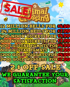Animal Crossing Small Large Star Fragments New Horizons Bells Nook Miles Tickets Gold Nuggets Set Fish Bait Material Recipes DIY