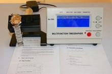 機械式時計とポケット weishi ウォッチタイミングマシン多機能 timegrapher NO.1000 + 1pc フラットミネラルガラス