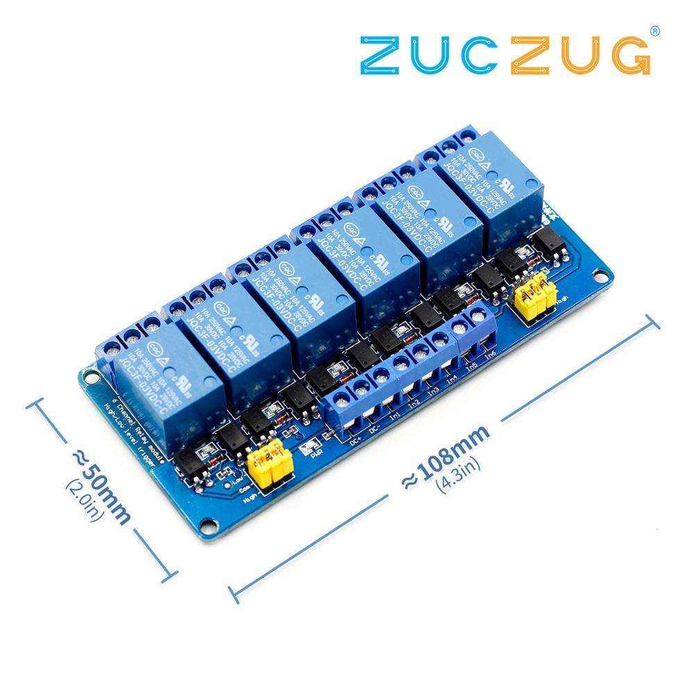 8 canali relè relay moduli Pannello di controllo Aduino PLC RELAY 5V quattro vie modulo