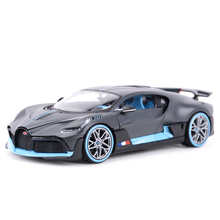 Maisto voiture de sport 1:24 Bugatti Divo, jouet voiture de sport, modèle à collection, moulé sous pression