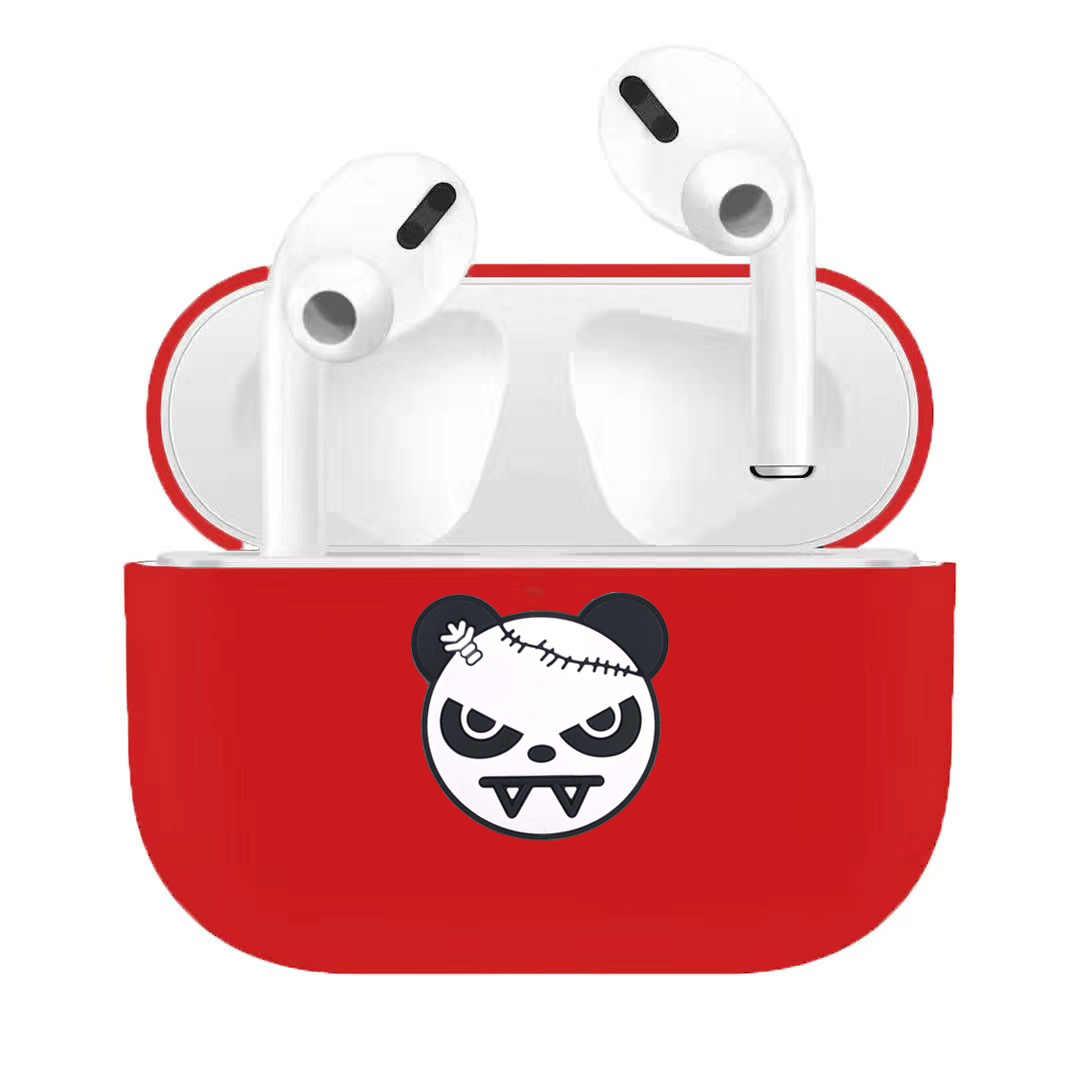 Skrzynka dla AirPods Pro Case miękkie Silixone bezprzewodowy słuchawki z bluetooth Case dla apple AirPods 3 pro skrzynki pokrywa dla air pods pro 3