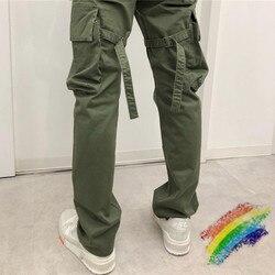 Мужские и женские брюки-карго VUJADE, повседневные спортивные брюки для бега, 1:1