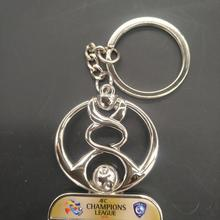 Keyring Trophy Champions Christmas-Decoration Award League Souvenirs Keychain Soccer