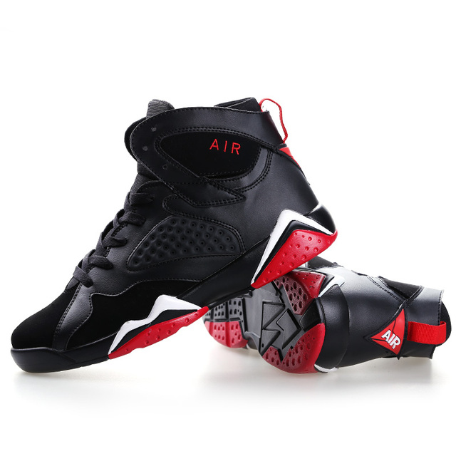 Couple Cushioning Jordan Retro Basketball Shoes Men's High-top Basketball Sneakers Boots Men Outdoor Size 45 Basket Shoes Unisex