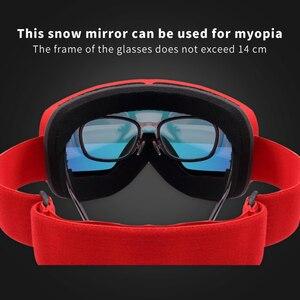 Image 4 - X TIGER di Marca da Neve Snowboard Occhiali Delle Donne Degli Uomini di Occhiali da Sci Doppi Strati 100% UV400 Anti Fog Grande Maschera da Sci Occhiali occhiali da Sci
