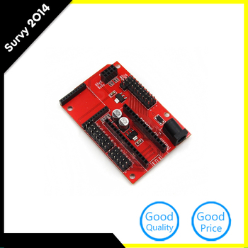 цена на Nano 328P IO Shield expansion board wireless Xbee socket diy electronics for Arduino Nano Shield