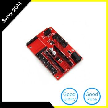Nano 328P IO Shield expansion board wireless Xbee socket diy electronics for Arduino Nano Shield недорого