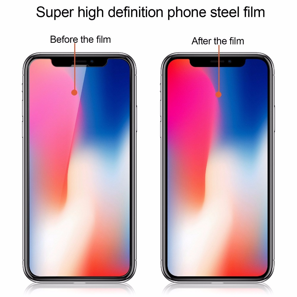 10 PCS/Lot 5PCS 3 Tempered Glass For iPhone 11 Pro X XS MAX 6 6s 7 8 Plus 4 4s 5 5s SE 5C Screen Protector Film Protector Glass
