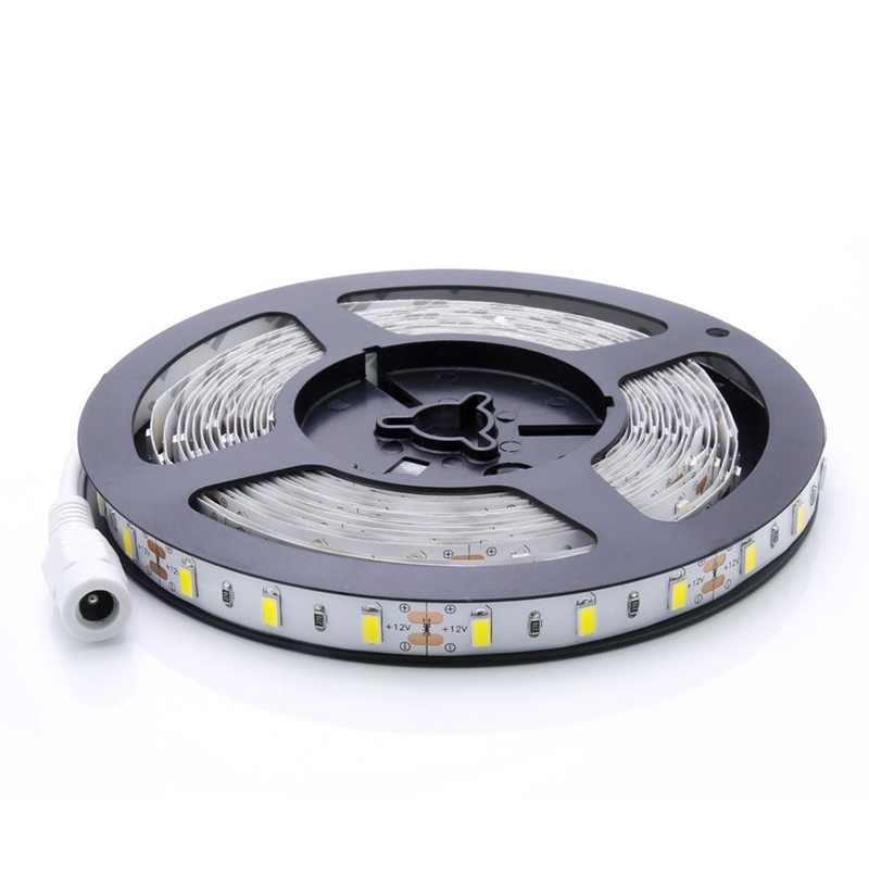 ABUI-Super Bright Flexible 5M 14.4W/Meter SMD 5630 300 Leds IP20 Non-waterproof Daylight White(6000-6500K) LED Strip Ribbon