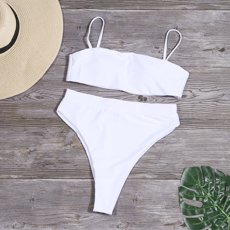 H7ddebc20cd0842dead8fbf9b1ebb0533q Minimalism Le Solid High Waist Bikinis Sexy Leopard Swimsuit Women Snake Print Bathing Suit 2019 New Swimwear Summer Beachwear