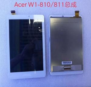 Панель ЖК-дисплея, кодирующий преобразователь сенсорного экрана в сборе для Acer Iconia Tab 8, W1-810, W1, 810, планшетный ПК, запасные части, белый цвет