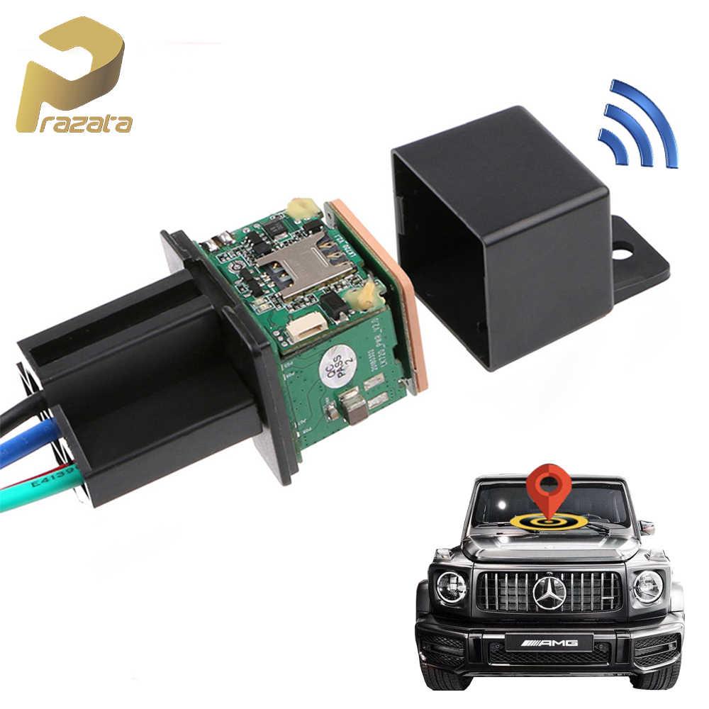 Prazata relais Mini GPS Tracker voiture GPS Tracker véhicule GSM coupé carburant conception cachée LK720 Google cartes piste alarme de choc gratuit