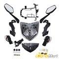 Для Yamaha FZ1N FZ1 N FZ-1N 2006-2012 2007 2008 2009 2010 2011 Мотоцикл головной светильник светодиодные противотуманные лампы фары в сборе комплект