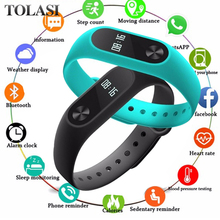 цена на Smart Watch Sport Bracelet  Women Men Smartwatch For Android IOS Wristband Clock Smart Band Fitness Tracker Smartband Smartwatch